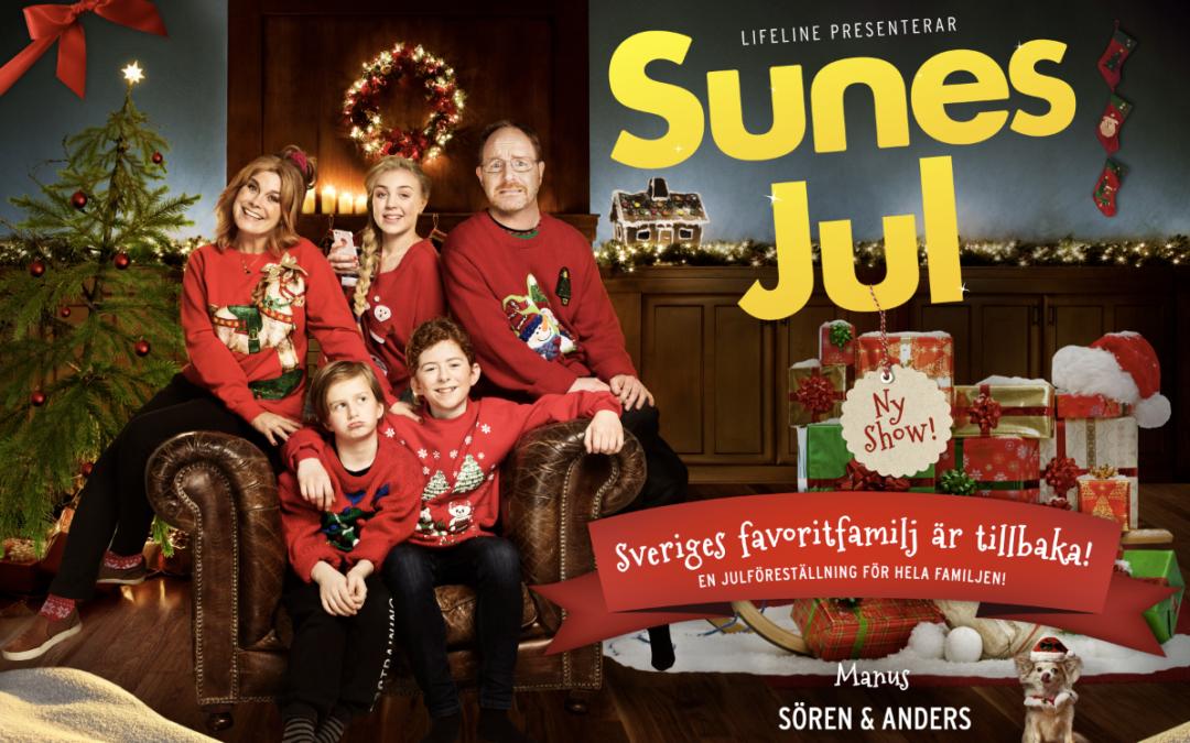 Missa inte Sunes jul!