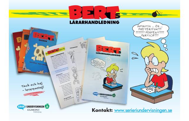 Berts dagbok på skolschemat