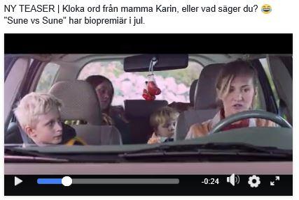 Missa inte nya trailern från filmen Sune vs Sune